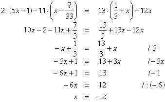 Lineárna rovnica
