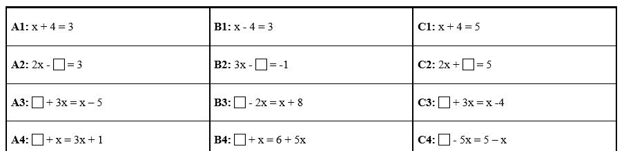 Linearne-rovnice-stafeta-ukazka