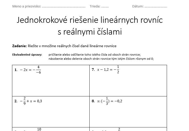 linearne-rovnice-jednokrokove-riesenie-ukazka