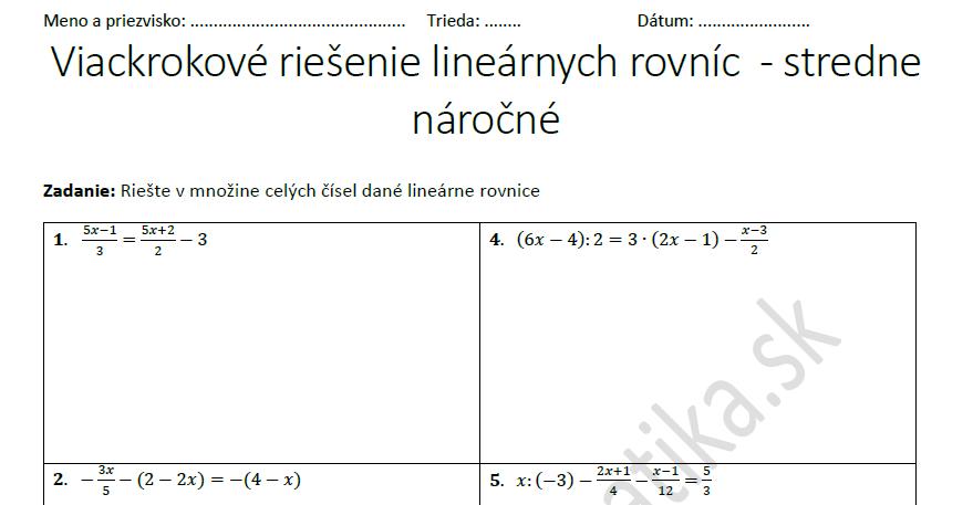 linearne-rovnice-viackrokove-riesenie-ukazka