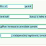 Výrokové formy, kvantifikované výroky - test č. 1