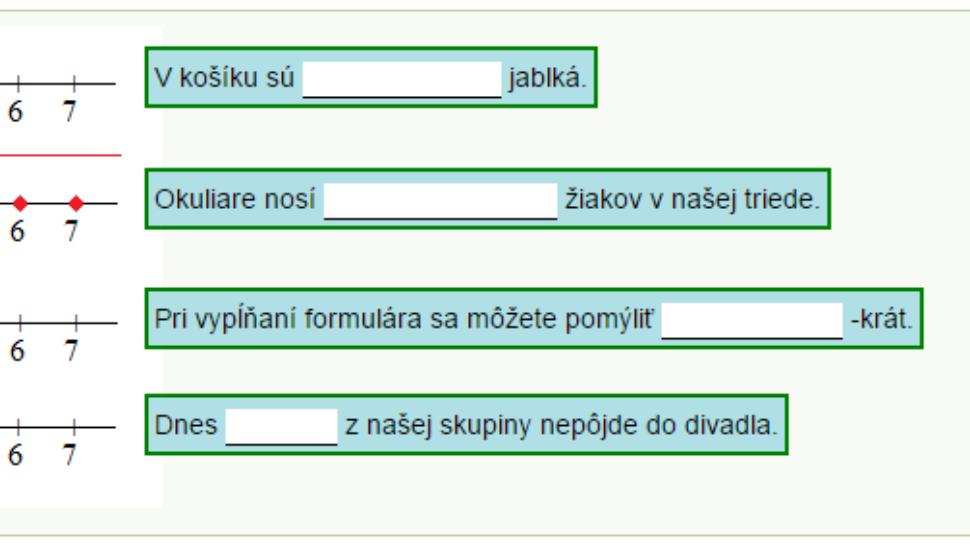 Výrokové formy, kvantifikované výroky – test č. 1